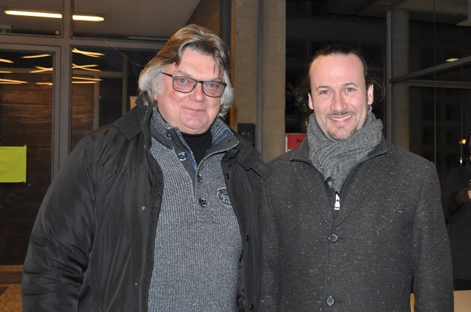 Herr Tammen und Herr Grünert