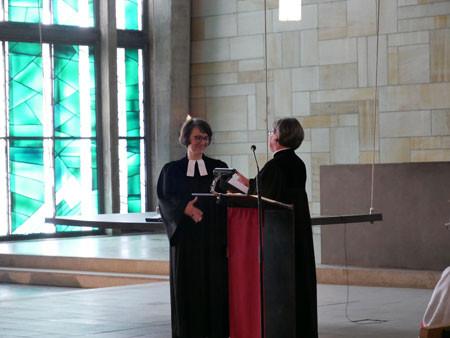 Verabschiedung von Pfarrerin Marion Hegwein